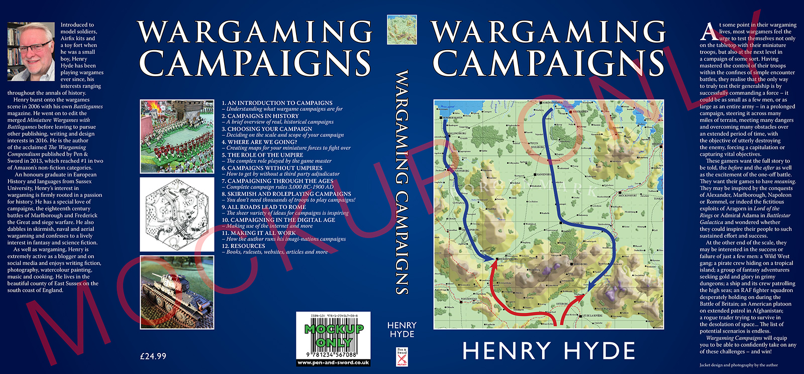 Wargaming Campaigns by Henry Hyde